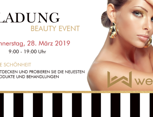 EINLADUNG – BEAUTY EVENT